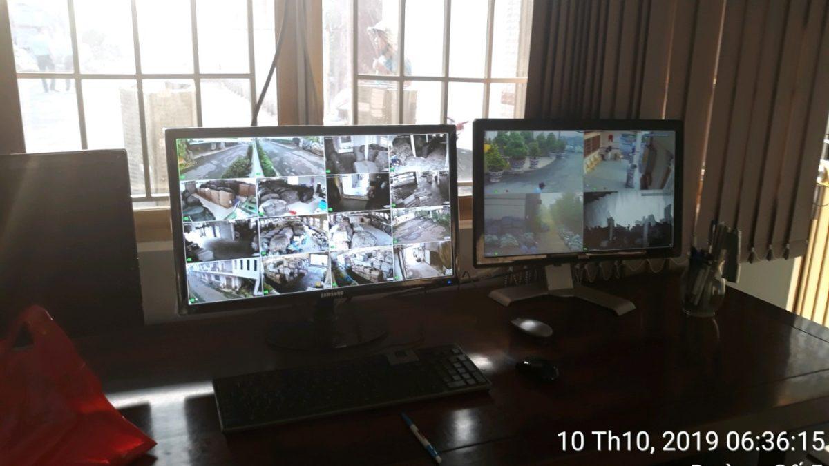 Cung cấp bảo vệ giám sát Camera Cty Hưng Thái 365