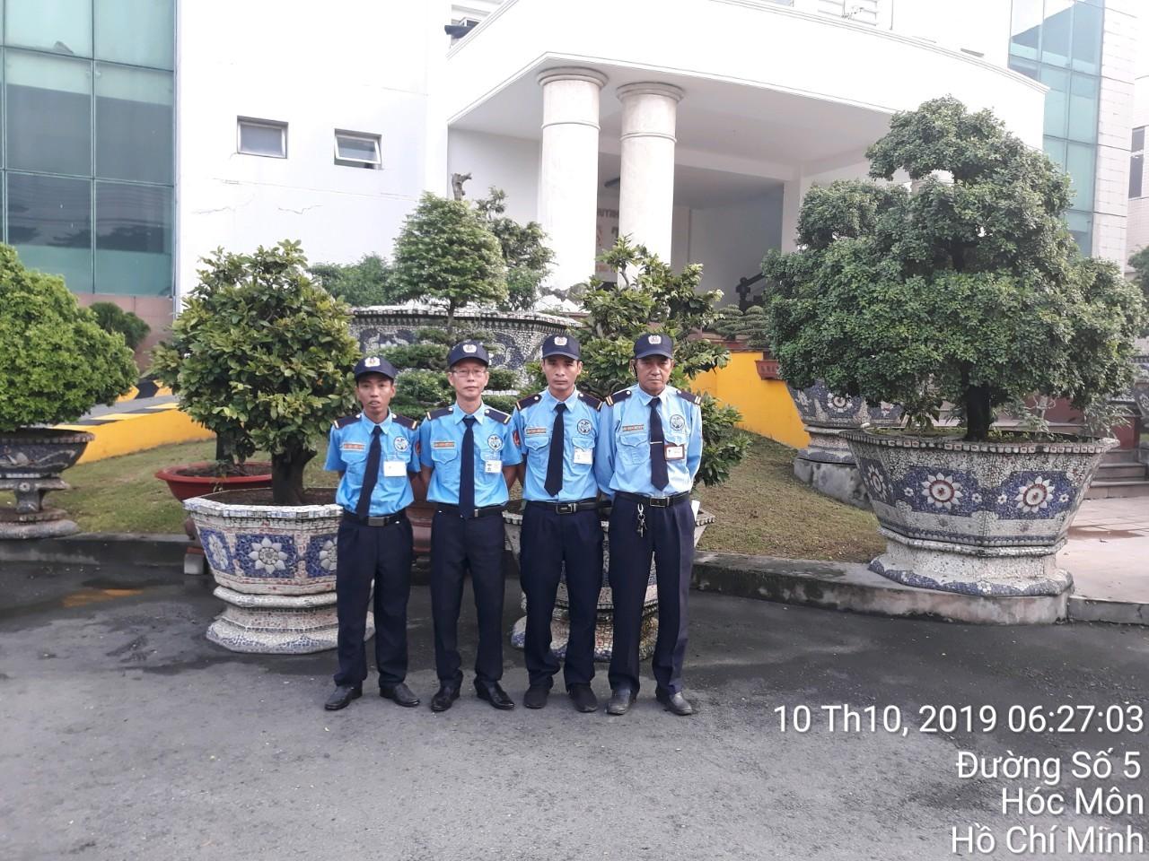 Cung cấp dịch vụ bảo vệ tuần tra Cty Hưng Thái