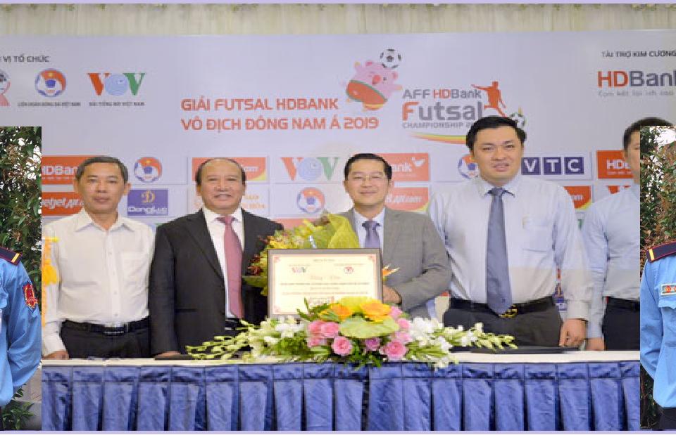 Danh sach cac doi Futsal Dong Nam A 2019