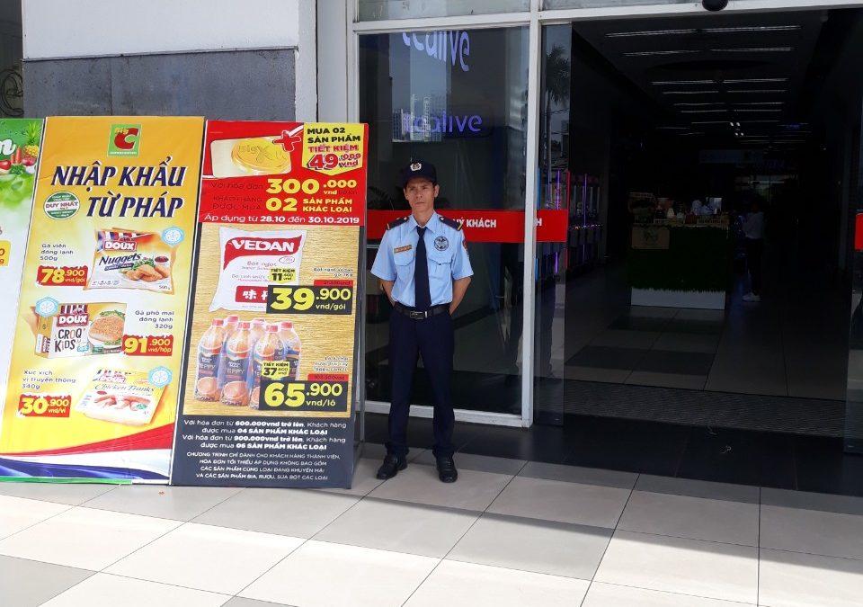 Bảo vệ BigC Phú Thạnh