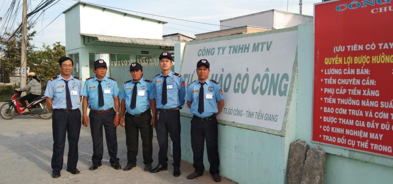 Cty bảo vệ ở Thái Bình