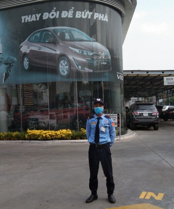 Kiểm soát an ninh cho Showroom Toyota Lý Thường Kiệt