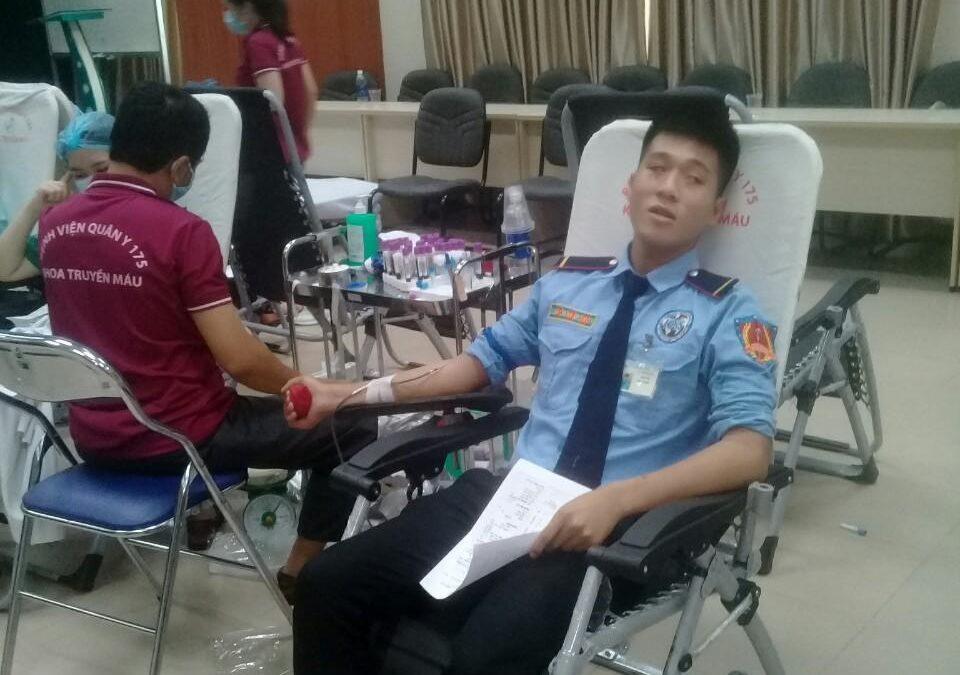 Hiến máu nhân đạo tại bệnh viện Đa Khoa An Sinh