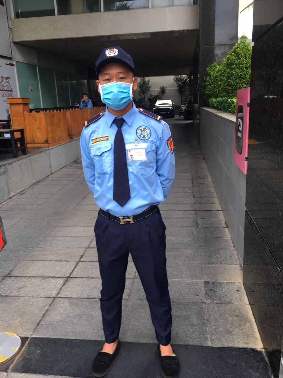 Bảo vệ giữ xe bệnh viện Răng Hàm Mặt TPHCM