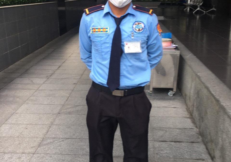Bảo vệ giữ xe bệnh viện An Sinh