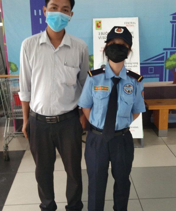 Bảo vệ giữ xe bệnh viện Y Dược Học Dân Tộc TPHCM