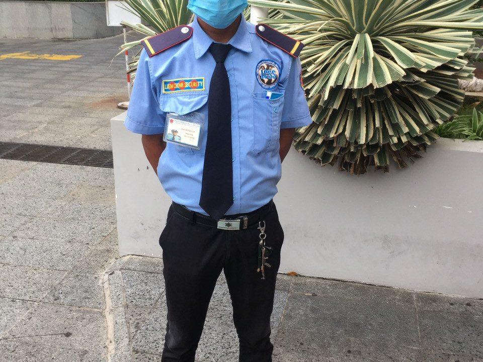 Bảo vệ giữ xe bệnh viện Quân Dân Miền Đông