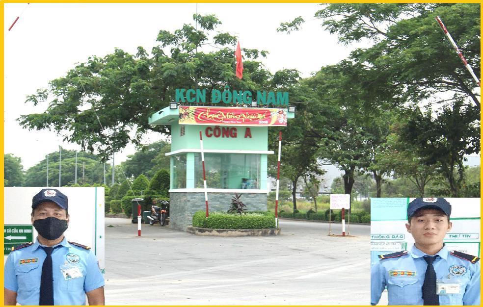 Dịch vụ bảo vệ khu công nghiệp Đông Nam