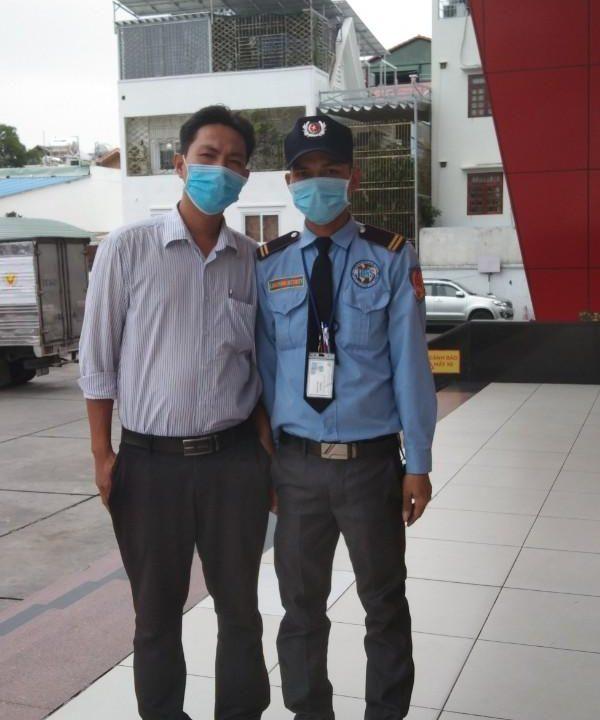 Bảo vệ giữ xe bệnh viện Truyền Máu Huyết Học TPHCM