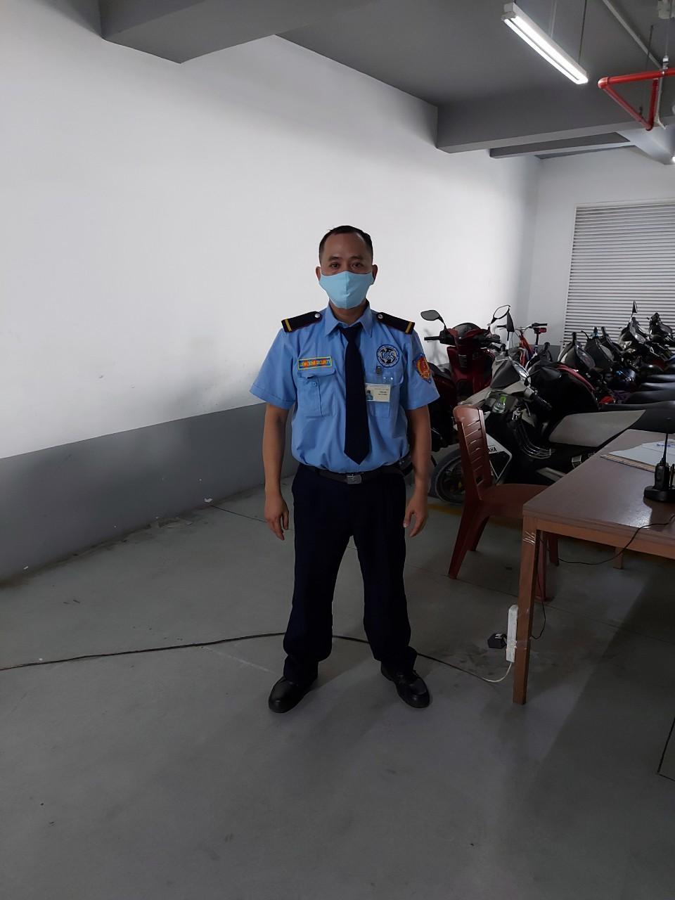 Bảo vệ giữ xe bệnh viện Tâm Thần TPHCM