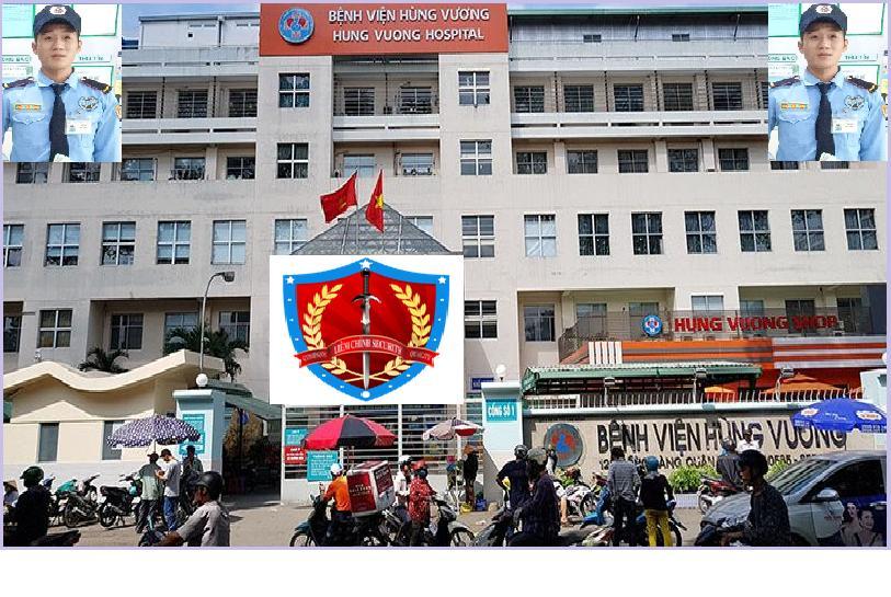 Bảo vệ bệnh viện Hùng Vương