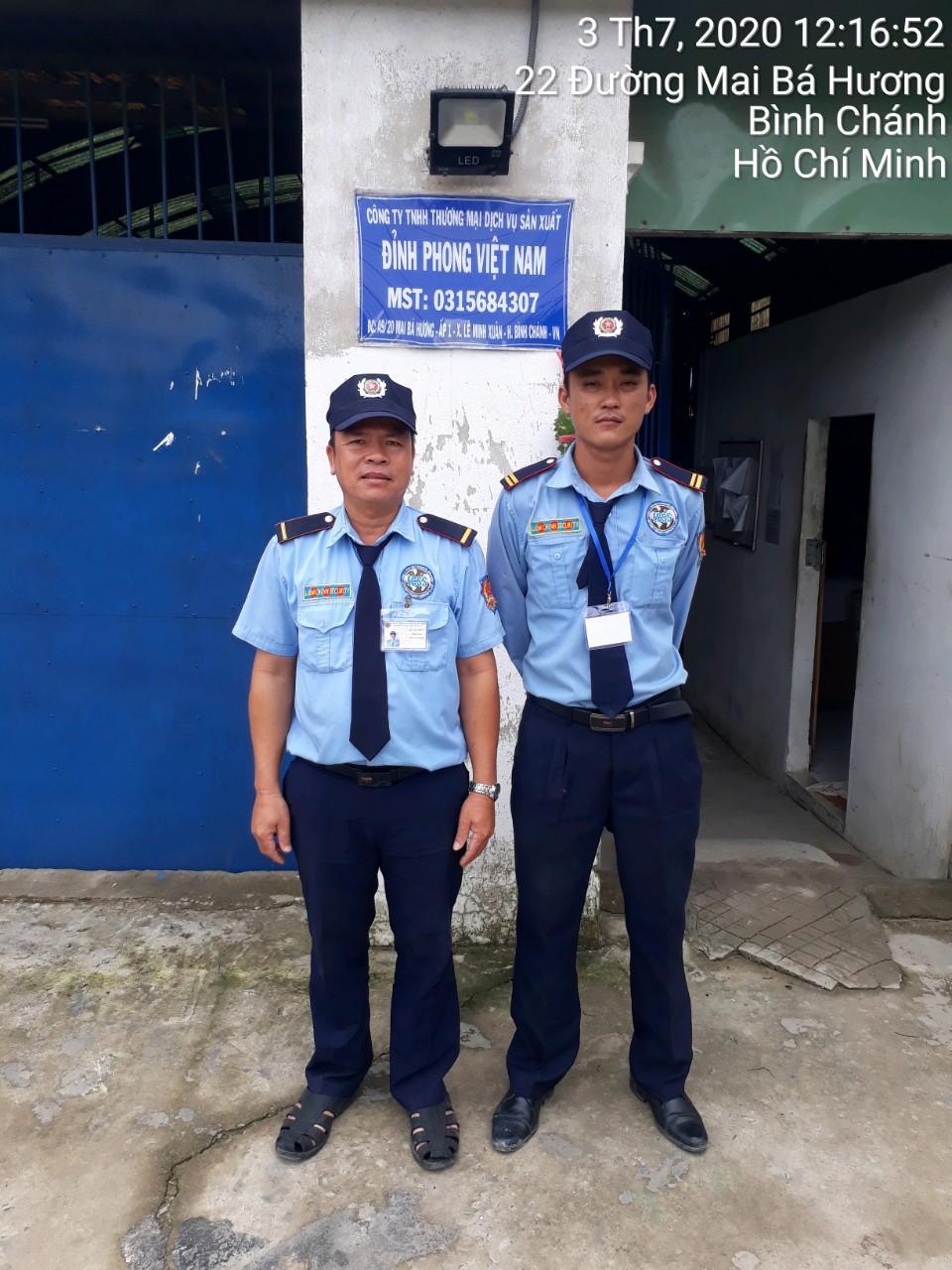 Dịch vụ bảo vệ khu công nghiệp Tân Bình