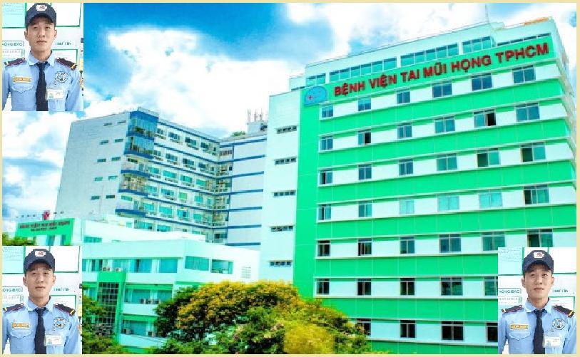 Bảo vệ giữ xe bệnh viện Tai Mũi Họng TPHCM