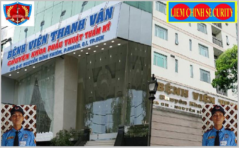 Bảo vệ giữ xe bệnh viện Thẩm Mỹ Thanh Vân