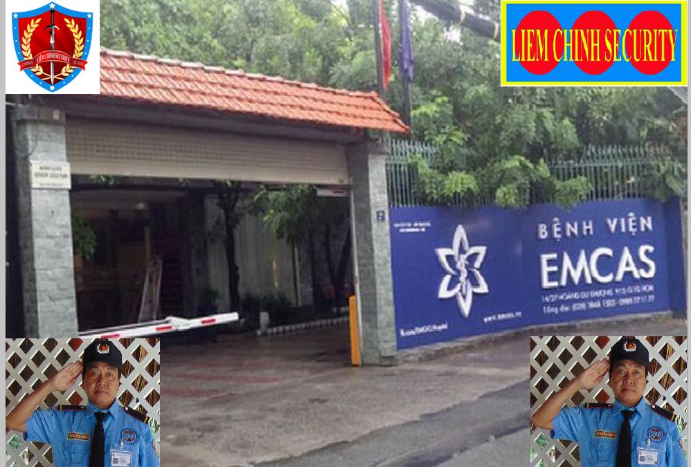 Bảo vệ giữ xe bệnh viện Thẩm Mỹ Emcas