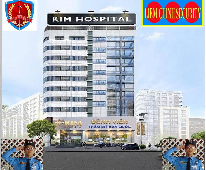 Bảo vệ giữ xe bệnh viện Thẩm Mỹ Kim Hospital