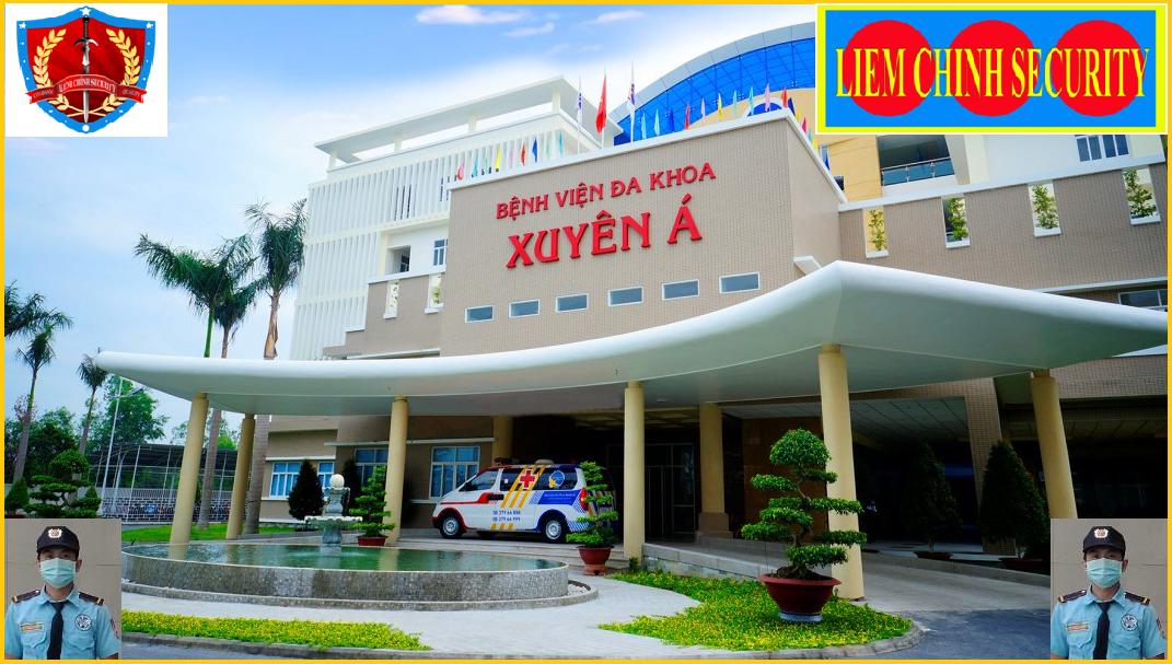 Bảo vệ giữ xe bệnh viện Đa Khoa Xuyên Á