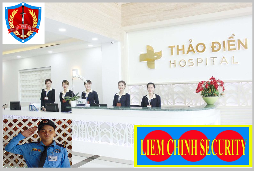 Bảo vệ giữ xe bệnh viện Quốc Tế Thảo Điền