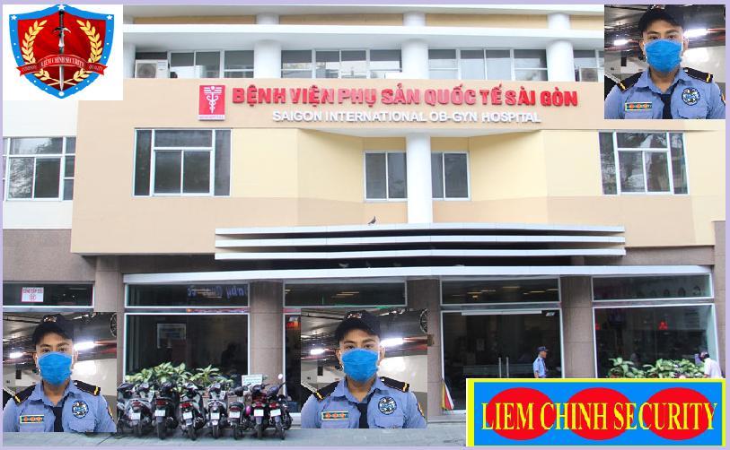 Bảo vệ giữ xe bệnh viện Phụ Sản Quốc Tế Sài Gòn