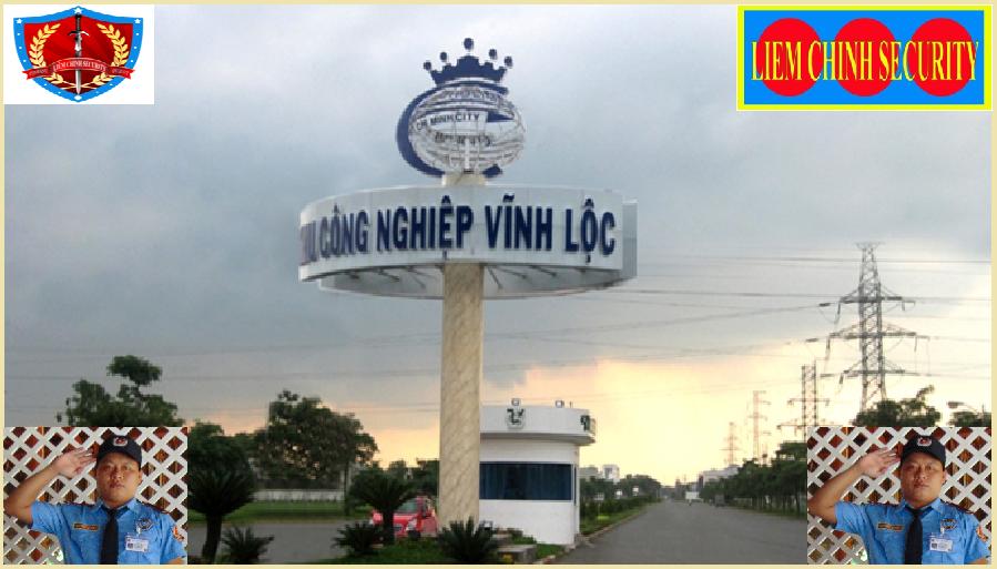 Bảo vệ cho khu công nghiệp Vĩnh Lộc