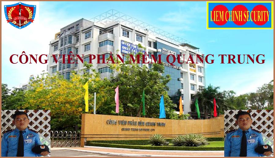 Bảo vệ khu công viên phần mềm Quang Trung
