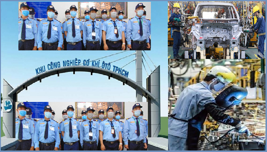 Bảo vệ cho cụm công nghiệp cơ khí ô tô TPHCM