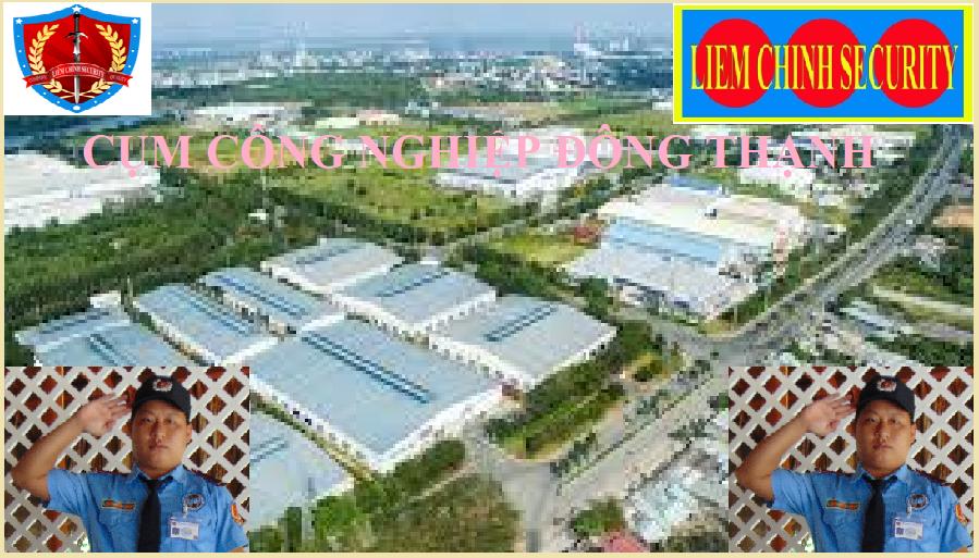 Bảo vệ cụm công nghiệp Đông Thạnh