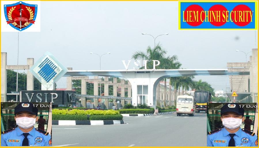 Bảo vệ khu công nghiệp ViSip 1