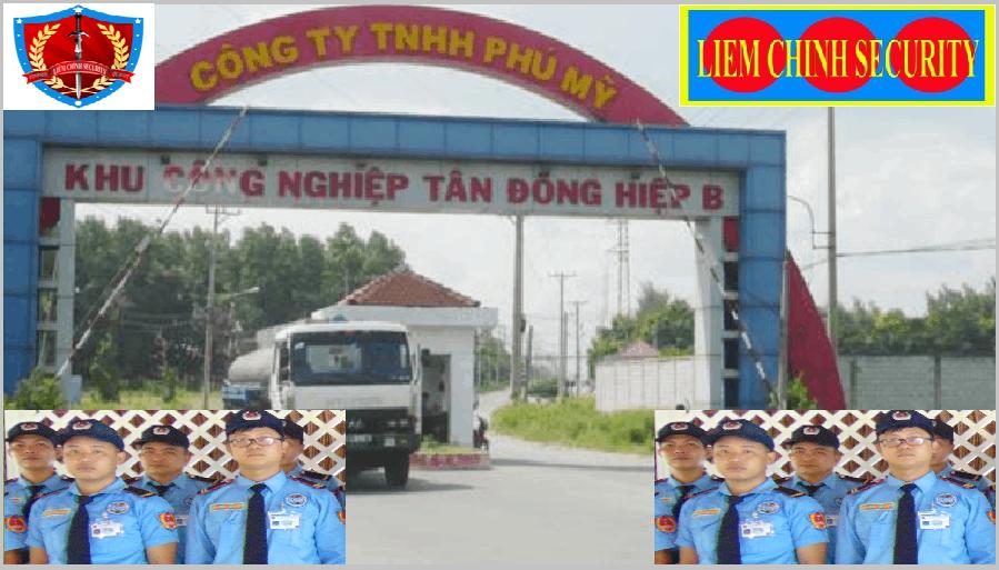 Bảo vệ khu công nghiệp Tân Đông Hiệp B