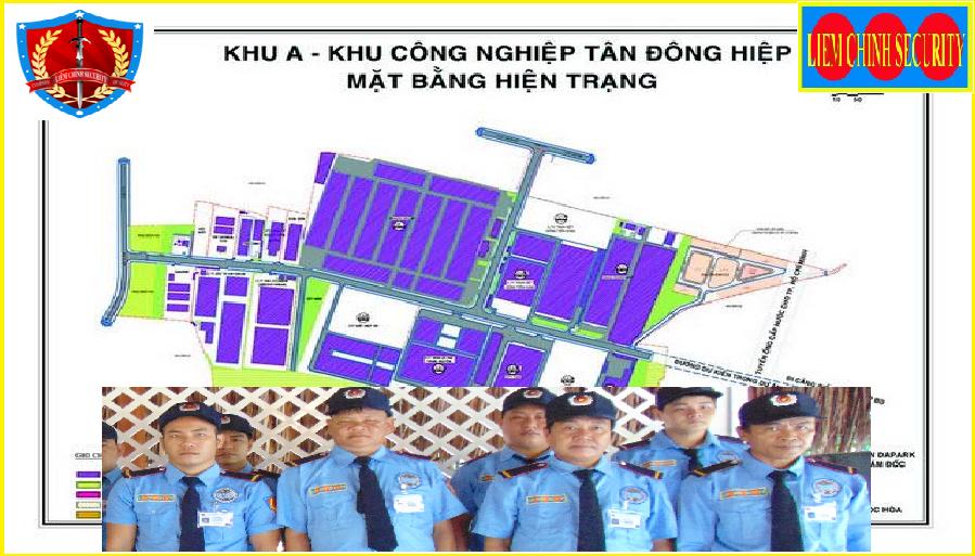 Bảo vệ khu công nghiệp Tân Đông Hiệp