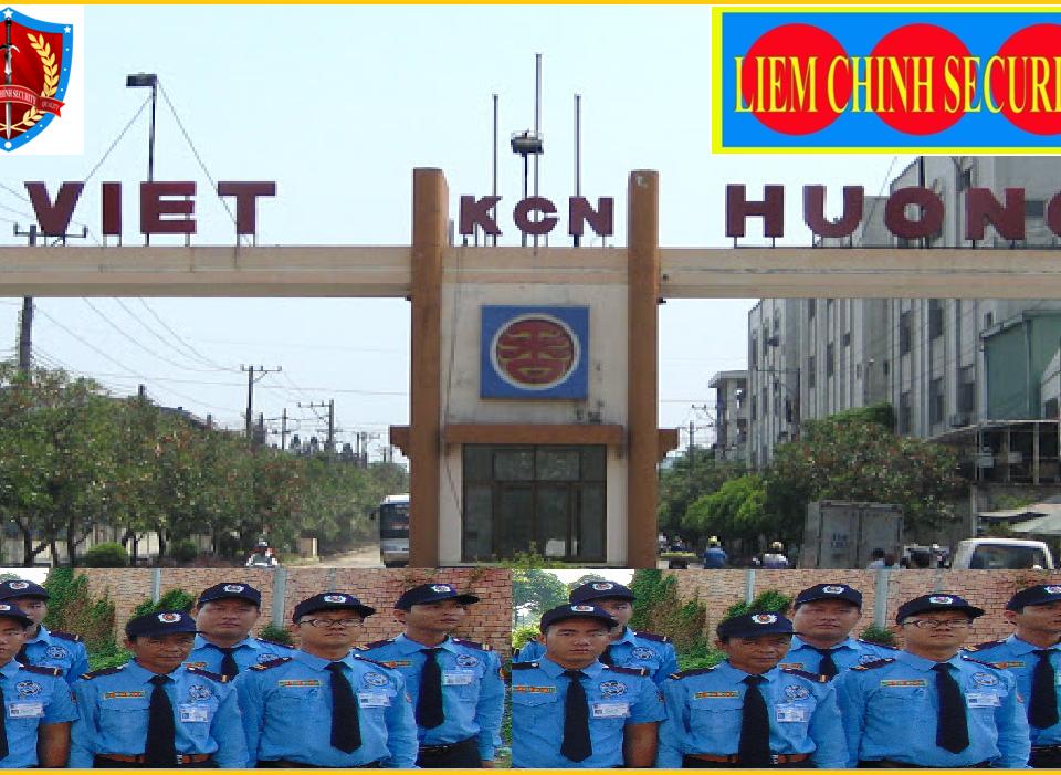 Bảo vệ khu công nghiêp Việt Hương 1
