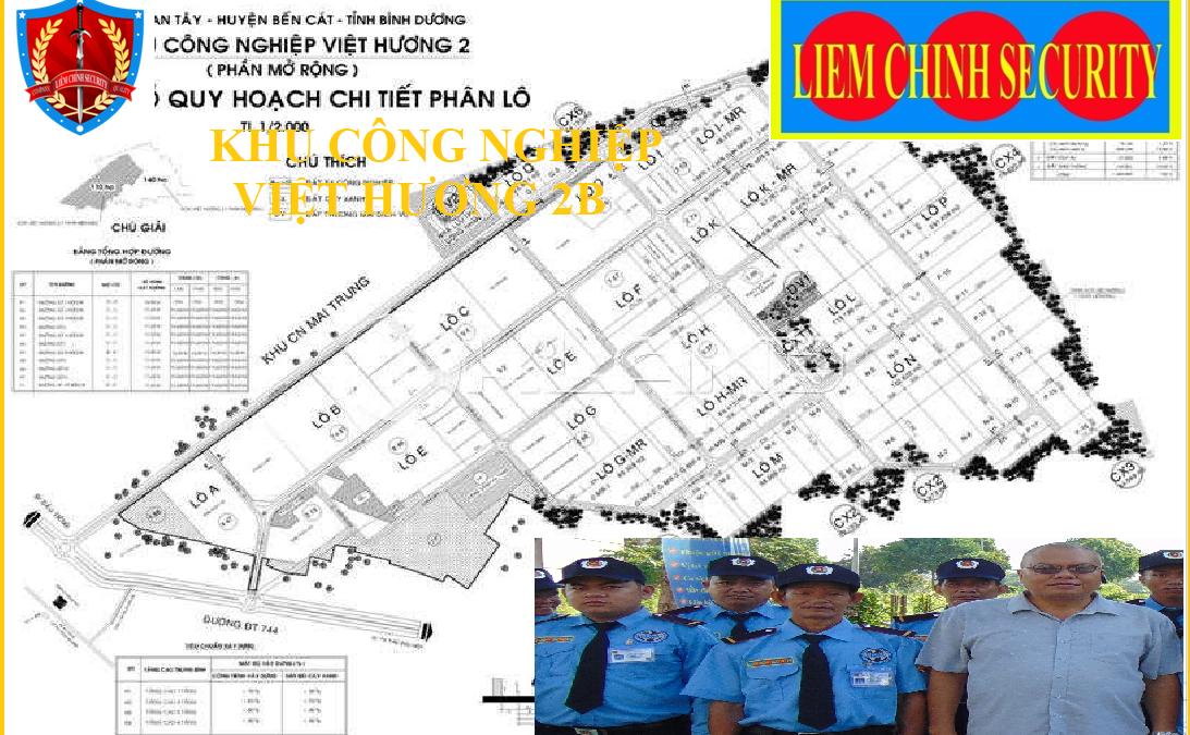 Bảo vệ khu công nghiệp Việt Hương 2B