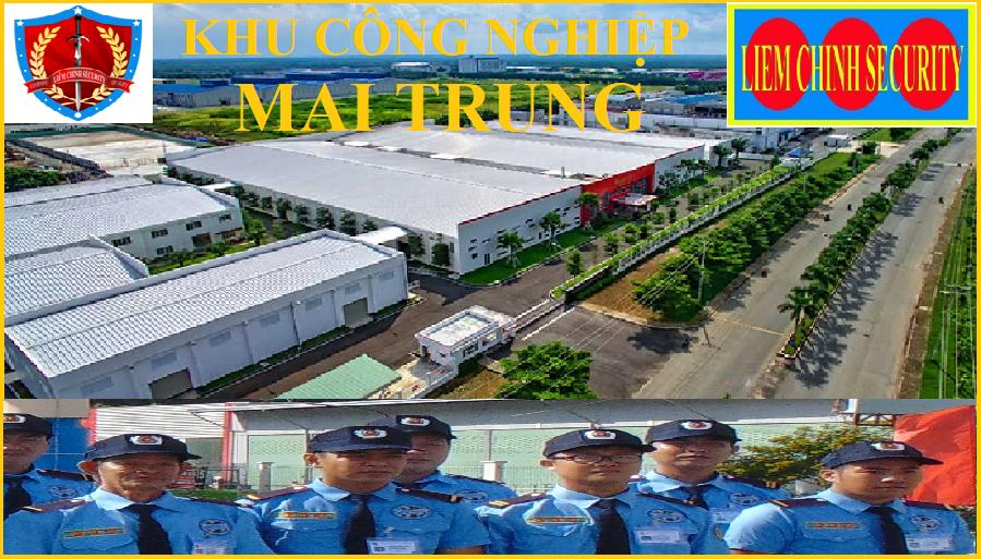Bảo vệ khu công nghiệp Mai Trung