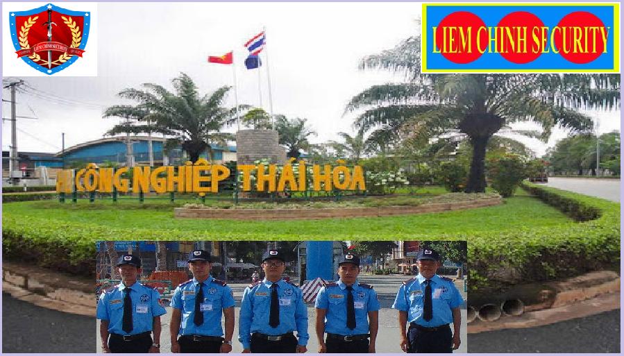 Bảo vệ cụm công nghiệp Thái Hòa