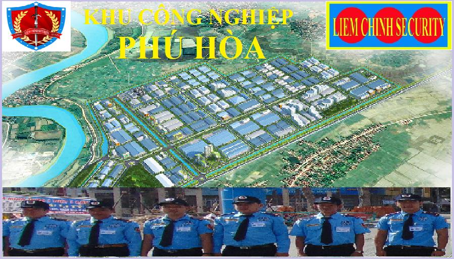 Bảo vệ cụm công nghiệp Phú Hòa