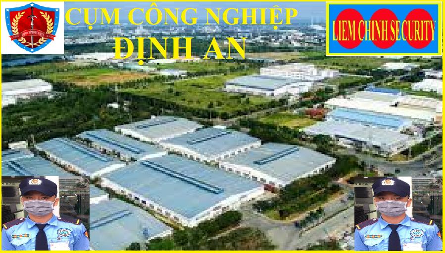 Bảo vệ cụm công nghiệp Tân Định An