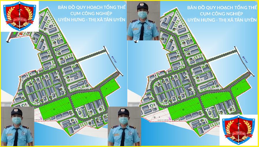 Bảo vệ cụm công nghiệp Uyên Hưng