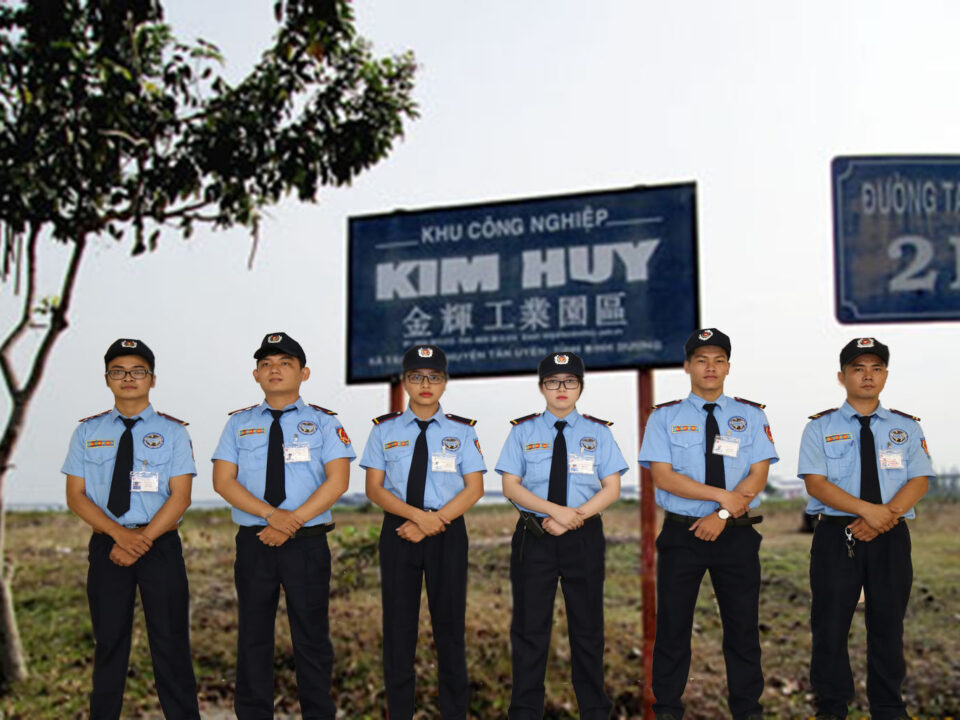 Bảo vệ khu công nghiệp Kim Huy