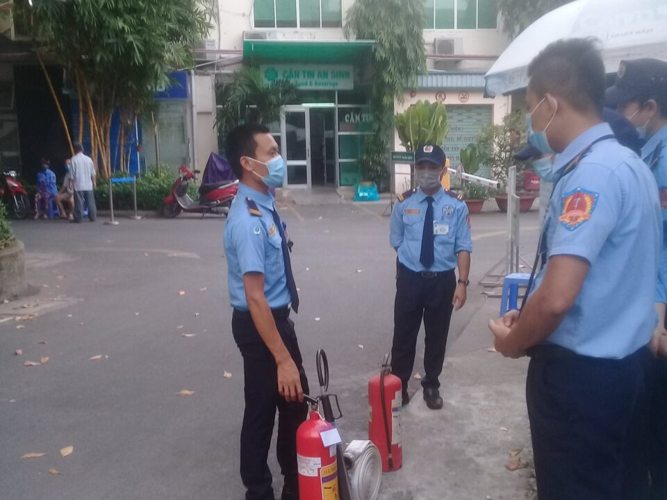 Bảo vệ khu công nghiệp Việt Hương 2A