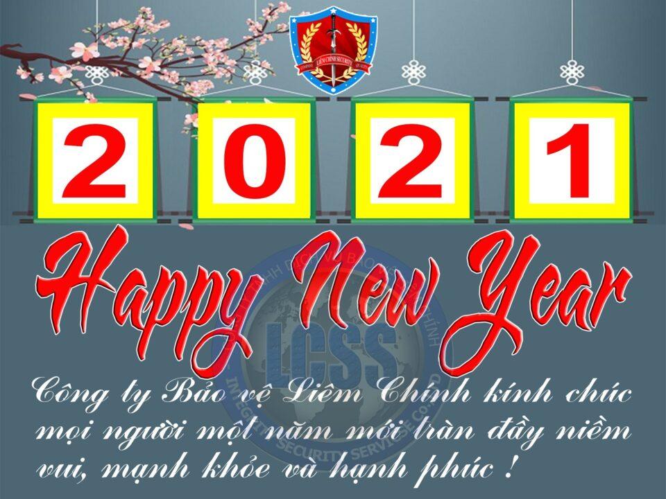 Cty bảo vệ Liêm Chính chào mừng năm mới 2021