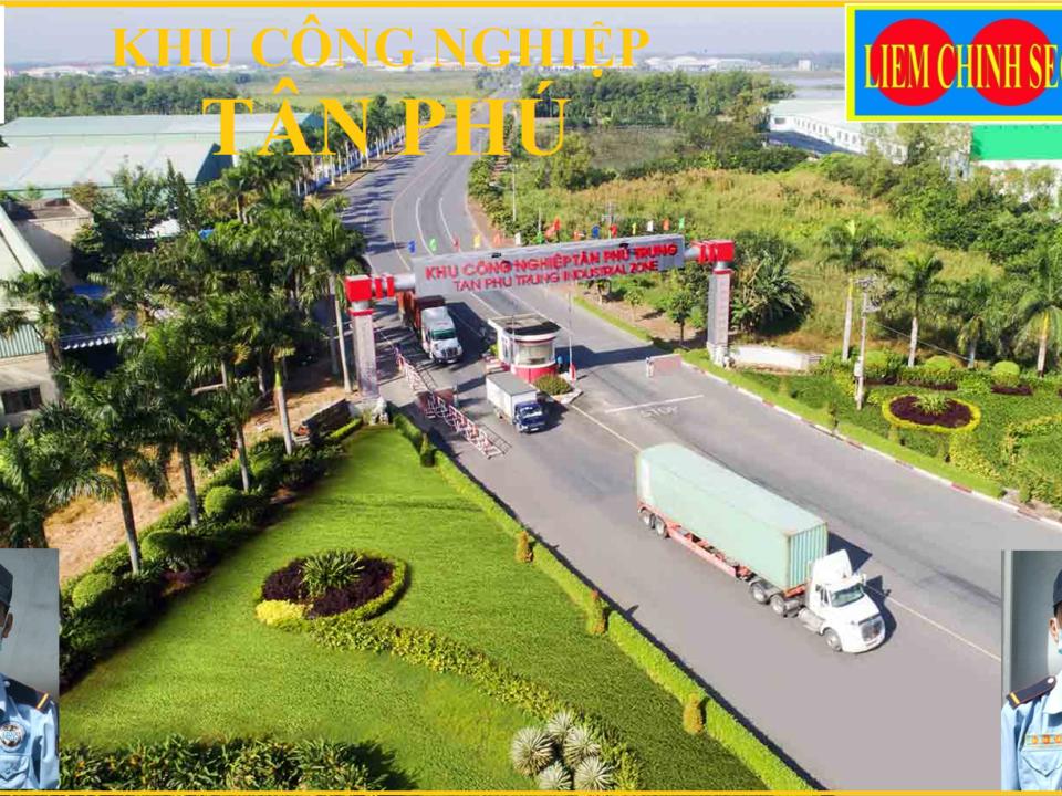 Bảo vệ khu công nghiệp Tân Phú