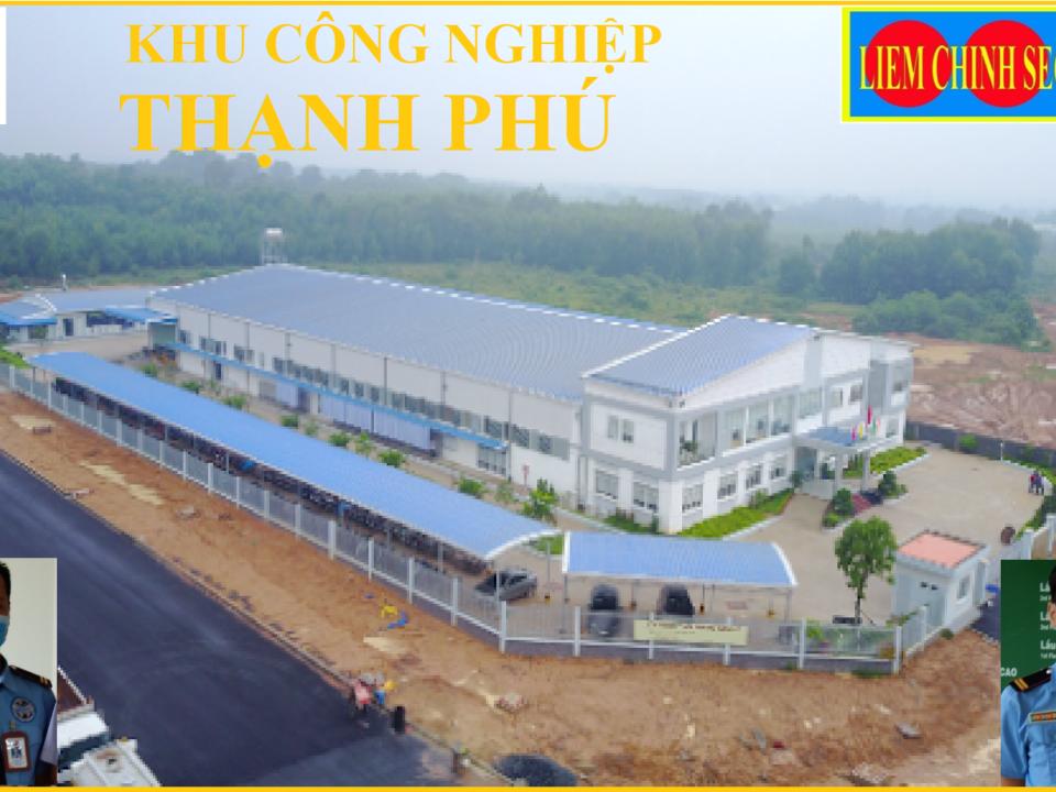 Bảo vệ khu công nghiệp Thạnh Phú