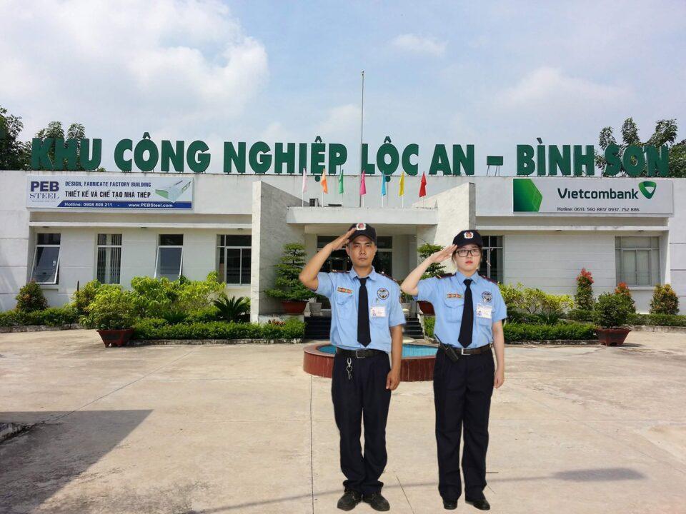 Bảo vệ khu công nghiệp Lộc An - Bình Sơn