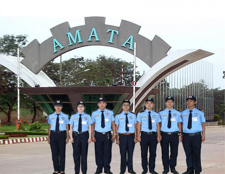 Bảo vệ khu công nghiệp Amata