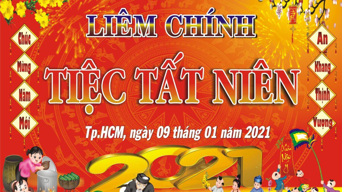 Tiệc tất niên của Công ty Liêm Chính năm 2021