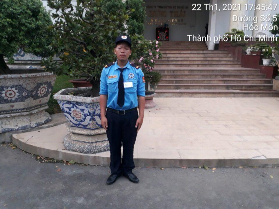 Bảo vệ khu công nghiệp Vĩnh Lộc 2