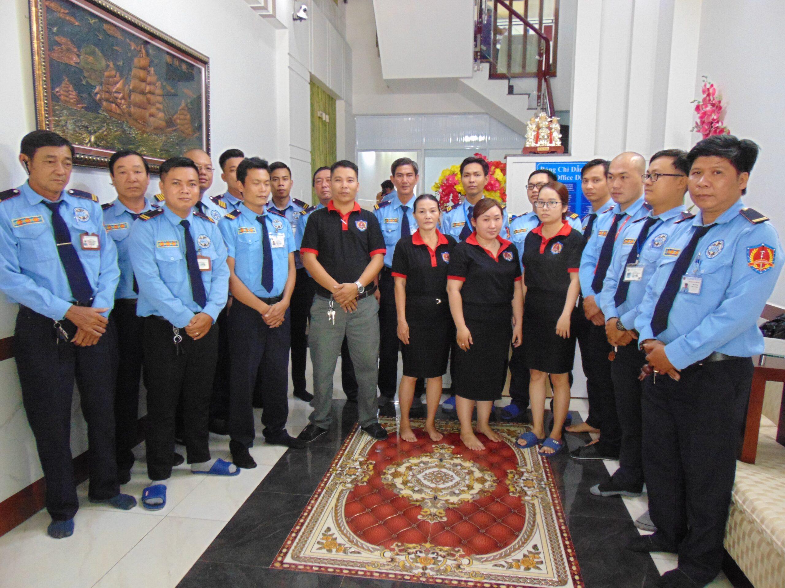 Bảo vệ khu công nghiệp Tân Bửu - Phúc Long