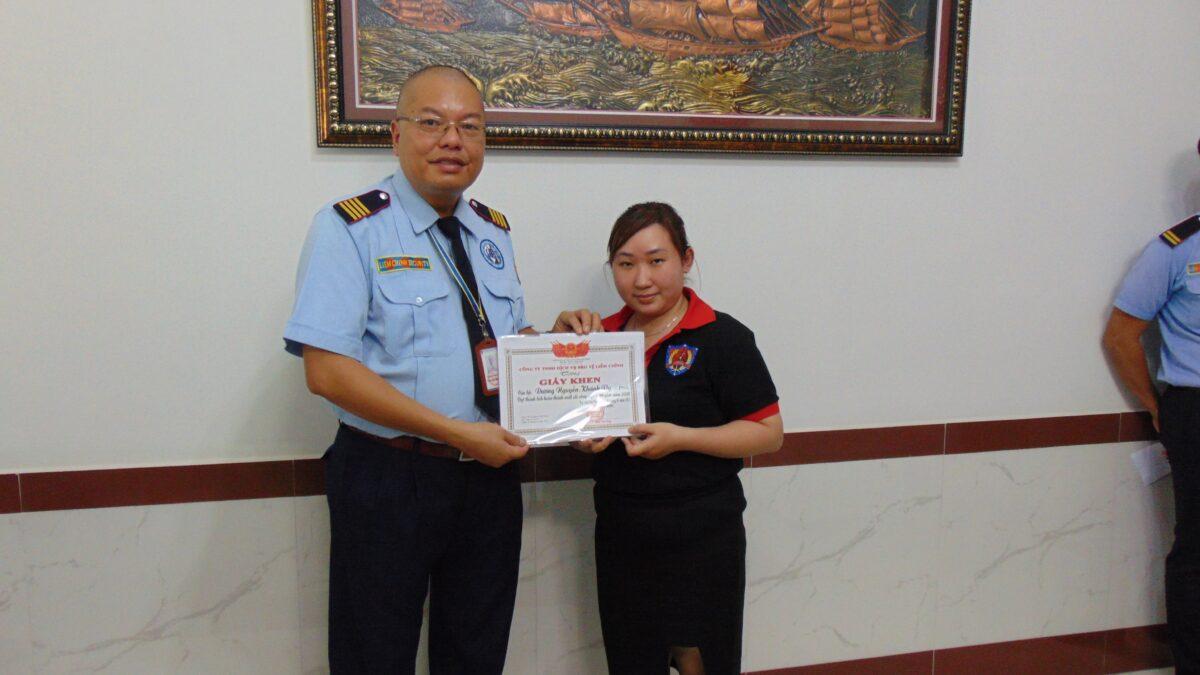 Bảo vệ khu công nghiệp Bắc Tân Tập