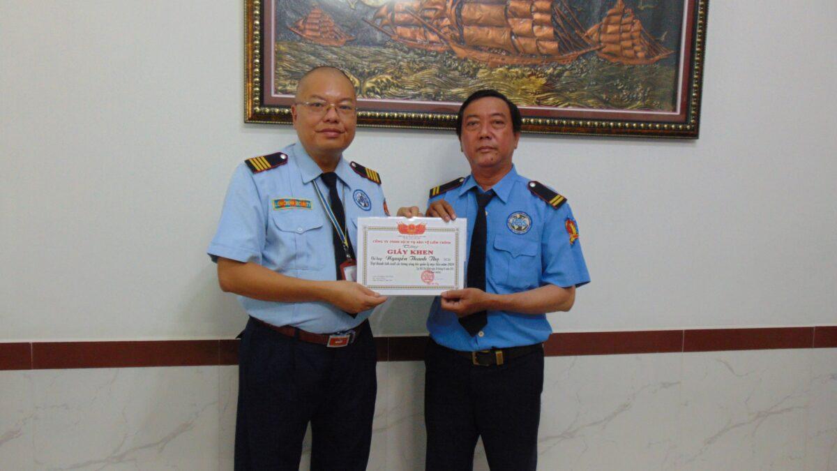 Bảo vệ khu công nghiệp Tân Kim