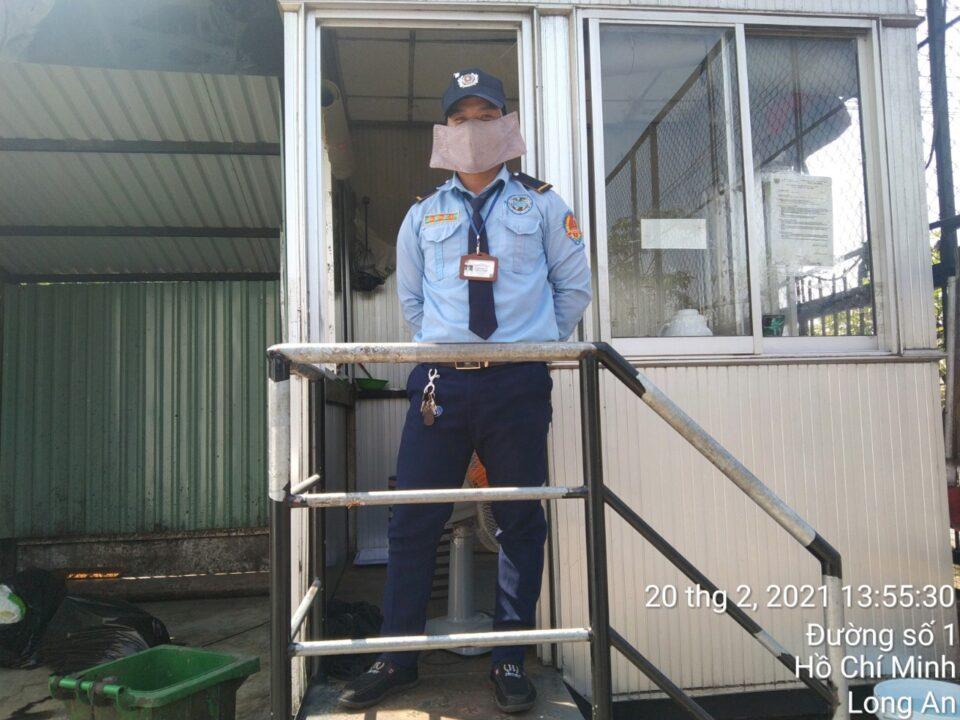 Bảo vệ khu công nghiệp Tân Thành